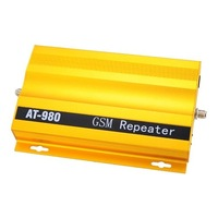 Practical AT-980 GSM Repeater Signal Amplifier for Cell Phone-Golden