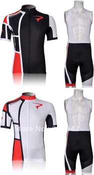 Tour de France 2012 Brand New Pinarello 2 colors Short Sleeve Cycling Clothing Jersey & Bib Shorts Sets.Free shipping!