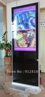 FREE SHIPPING!! 65 inch floor standing LCD digital signage player / advertising player / display screen from China