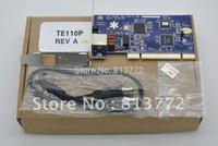 Digium TE110P -1 port T1/E1 card,ISDN PRI PCI card,1 port T1/E1 card with Low Profile