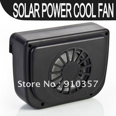 Solar Powered solar Auto Cool Fan/Car Air Ventilation System Car Cooler Cooling Auto Fan