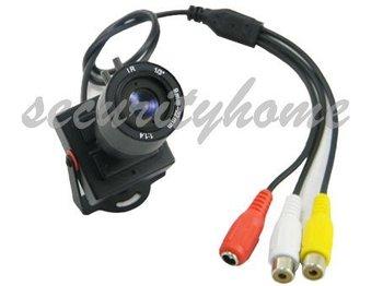Mini HD 600TVL ZOOM 9-22 Manual Adjust 1/3 CMOS Security Color CCTV Camera with MIC