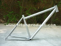 Titanium MTB Frame 650B with 44MM Headtube and Replaceable Dropout