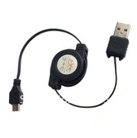 Retractable Micro USB Cable For Blackberry Sumsang Galaxy S2 i9100 HTC Motorola LG, 100pcs/lot, DHL Free Shipping