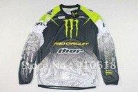 kawasaki THOR cross-country T-shirt - Long T-shirt racing suit motorcycle clothing motorcycle clothing
