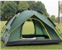 Free Shipping+Fast Delivery+High quality Instant tent Automatic camping tent 3-4 person Double layer