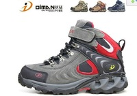 Free shipping 2012 autumn winter new children sports shoes  / 100% cowhide, outdoor,boys girls/kids boots