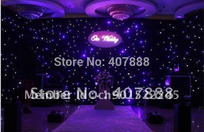 2015 christmas light full xxx led curtain screen/ led star cloth(China (Mainland))