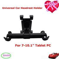 "2014 Newest ABS Universal 7-12"" Tablet PC Car Headrest Holder for Ipad Car Seat Bracket Car Headrest Mount 15cm-21cm Adjustable"