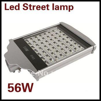 Led Street 56W high power Led street light for highway Bridgelux LED Free Shipping DHL