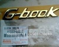 Free Shipping TOYOTA  G-BOOK  EMBLEM LOGO BADGE  TOYOTA GENUINE  OEM PZD37-06012