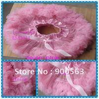 solid  pink  designed  pettiskirt  for  girls,  fluffy  chlidren  girl  tutu