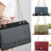 Free Shipping Grace Karin Lady Long Chain Crocodile Handbag Bag Fashion  Women BG192