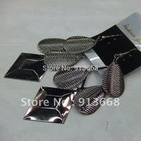 2013 Fashion Jewelry 12pairs/lot  Long Metal Drop Earrings ERH1158