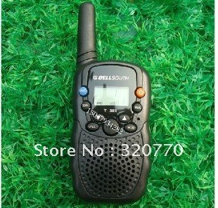 Whoelsale 10pcs/lot interphone new T-388-2 0.5W 22 channel 462HZ frequency 2 way radio walkie talkie/radio uhf,EMS/DHL Free
