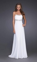 Free Shipping Elegant White Gown by 15027 Wedding Dresses Evening/Prom/Homecoming Quinceanera Dresses