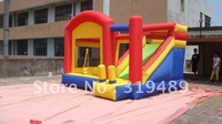 13x12ft super slide bounce house inflatable moonwalk jumper bouncy castle+free shipping+free CE/UL blower