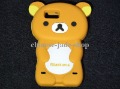 3D Rilakkuma Bear Silicone Skin Case For Motorola Motoluxe XT615 1PCS/LOT