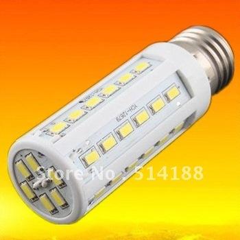 Factory directsale Free shipping high quality 220V-240V 9W E27 850LM 42 leds SMD 5630 LED Corn bulb Warm White/white