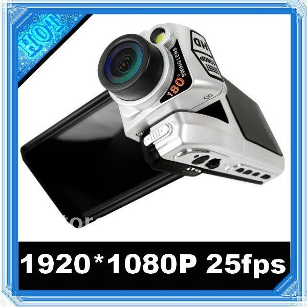 Free shipping car black box 2.5 Inch 1920*1080 Full HD 1080P Car Camera F900LHD car dvr 2012 car recorder(China (Mainland))
