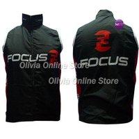 2012 Focus black Only Cycling windbreaker /bicycle vest windbreaker s~3xl