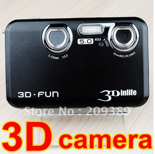 New 12MP HD 3D video recorder camera 2d/3d switchable, HDMI, TV out function, DHL free shipping(China (Mainland))