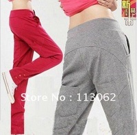 free shipping new women&#39;s Harem Pants long Sweatpants slacks sport trousers Haroun pants