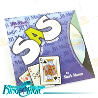 FREE SHIPPING- Signed And Sandwiched-king Magic tricks/magie/magia-free shipping