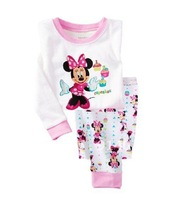 wholesale-new good price baby pajamas suits clothes, children's sleepwear+free gift!