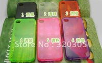 Low Price  TPU Case For Iphone 4/4s  accessories Without Retail Package Free Shipping