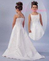 Modern Wedding Dresses Flowergirl Dress Style  Lime Dress