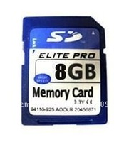 8GB SD memory card SDHC cards professional high quality real 8GB