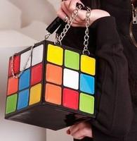 2014 Casual New Handbag Purse Gift,Girl Women's Cute Magic Cube Bag Hot Products Q172