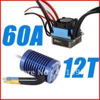 1 PCS INIX Racing 60A 12T Sensoreless Car Power System motor and esc combo High Quality