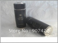 DHL 50pcs Free shipping ALKALINE WATER IONIZER ENERGY NANO FLASK IN BLACK with FILTER