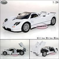 Pagani Zonda c12 white exquisite alloy car model free air mail