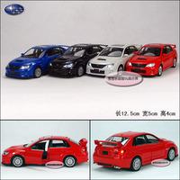 SUBARU wrx sti alloy car model plain free air mail