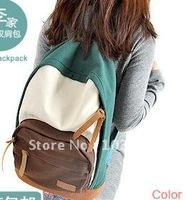 New leisure tide double shoulder pack lovely girl student backpack men and women fashion bag