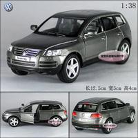 VW volkswagen touareg grey alloy car model free air mail
