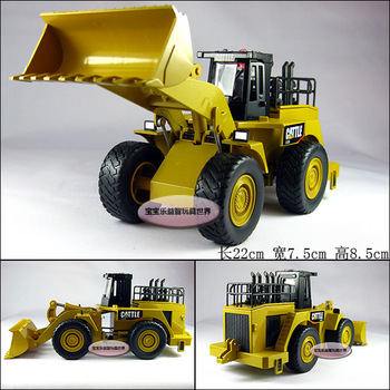 heavy loading machine forkfuls engineering car alloy car model toy free air mail