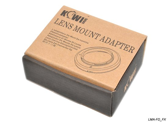Kiwifotos lens adpater for Canon FD lens onto Fuji X-pro 1 interchangeable camera(China (Mainland))