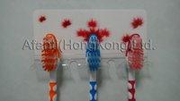 Plastic toothbrush holder/toothbrush hook/toothbrush hand