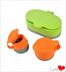 2012 New Free Shipping 3 in 1 Food Storage Snack Seal Bag Magic Cap Brand New(China (Mainland))