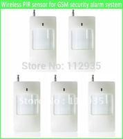 Wireless PIR Sensor/Motion Detector/Infrared detector for Home GSM Alarm System HW521