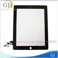 for Apple iPad 2 Touch Screen,Digitizer + 3M adhesive glue + tools ,high quality ,free shipping by Air Mail