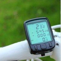 NEW 2012 24 Functions Waterproof LCD Cycling Bike Bicycle Computer Odometer Speedometer
