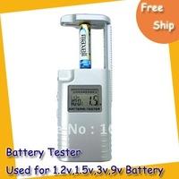 Free shipping Battery tester ---An Epochal Patent Battery Checkers Used for 1.2v, 1.5v, 3v, 9v Battery MOQ=1