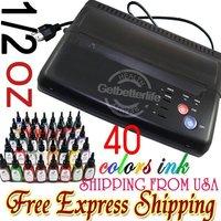 Бумага для копирования 10pcs Tattoo Thermal Stencil Transfer Paper A4 Size Supply