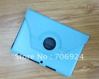 """Wholesale-Free Shipping For Samsung Galaxy Tab2 Tab 2 P5100 P5110 10.1"""" 360 Rotary Leather Case Cover Stand 30pcs"""