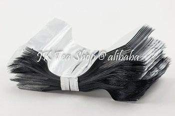 Pure Aluminium Standing-up Pouch with Zip Lock-100g Tea Capacity,12*20cm, 100pcs/set